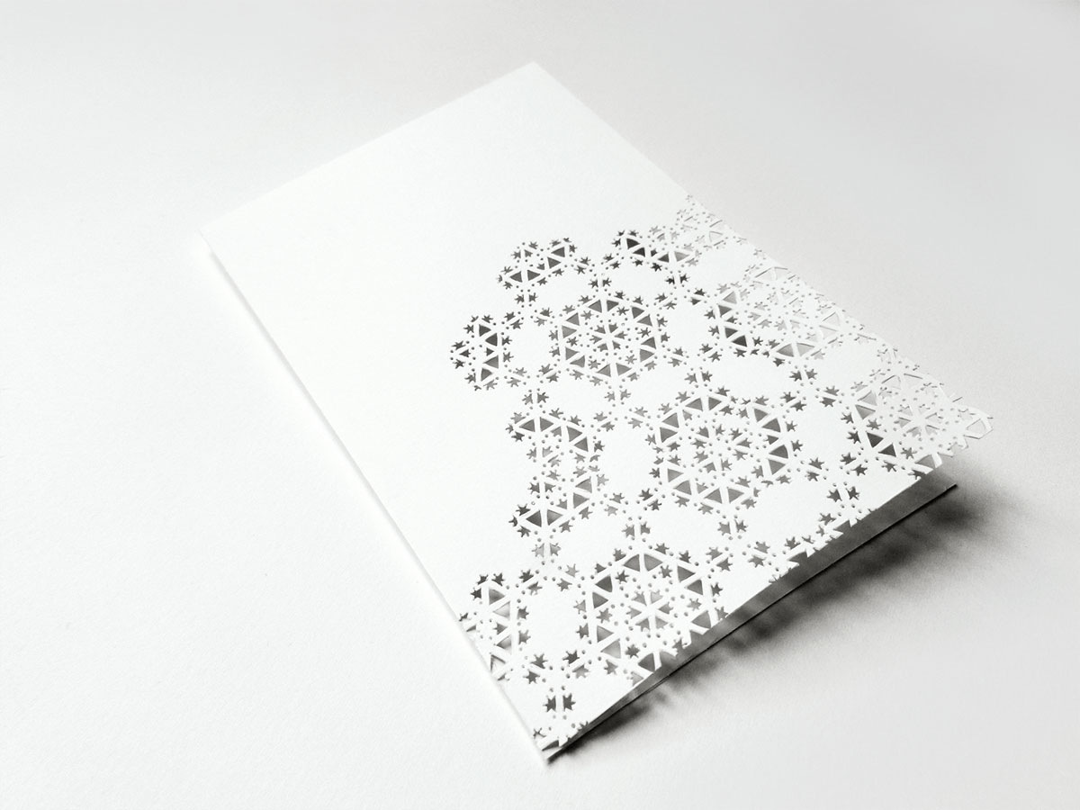 Fractal card by YHD